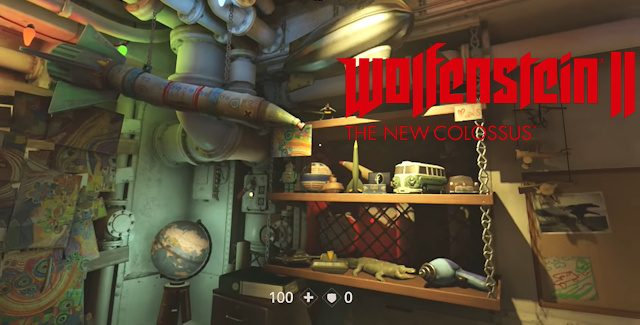 Wolfenstein 2: The New Colossus Max's Lost Toys Locations Guide