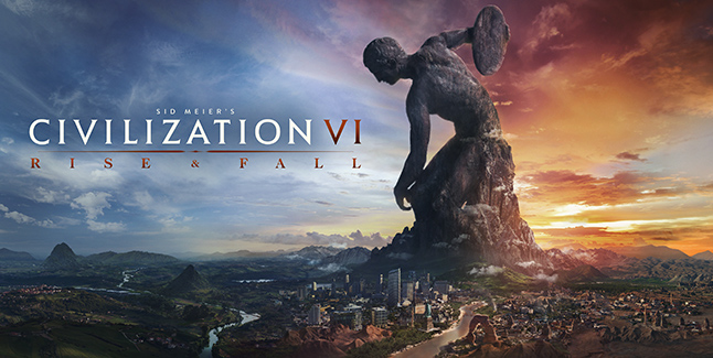 Civilization VI Rise and Fall Banner