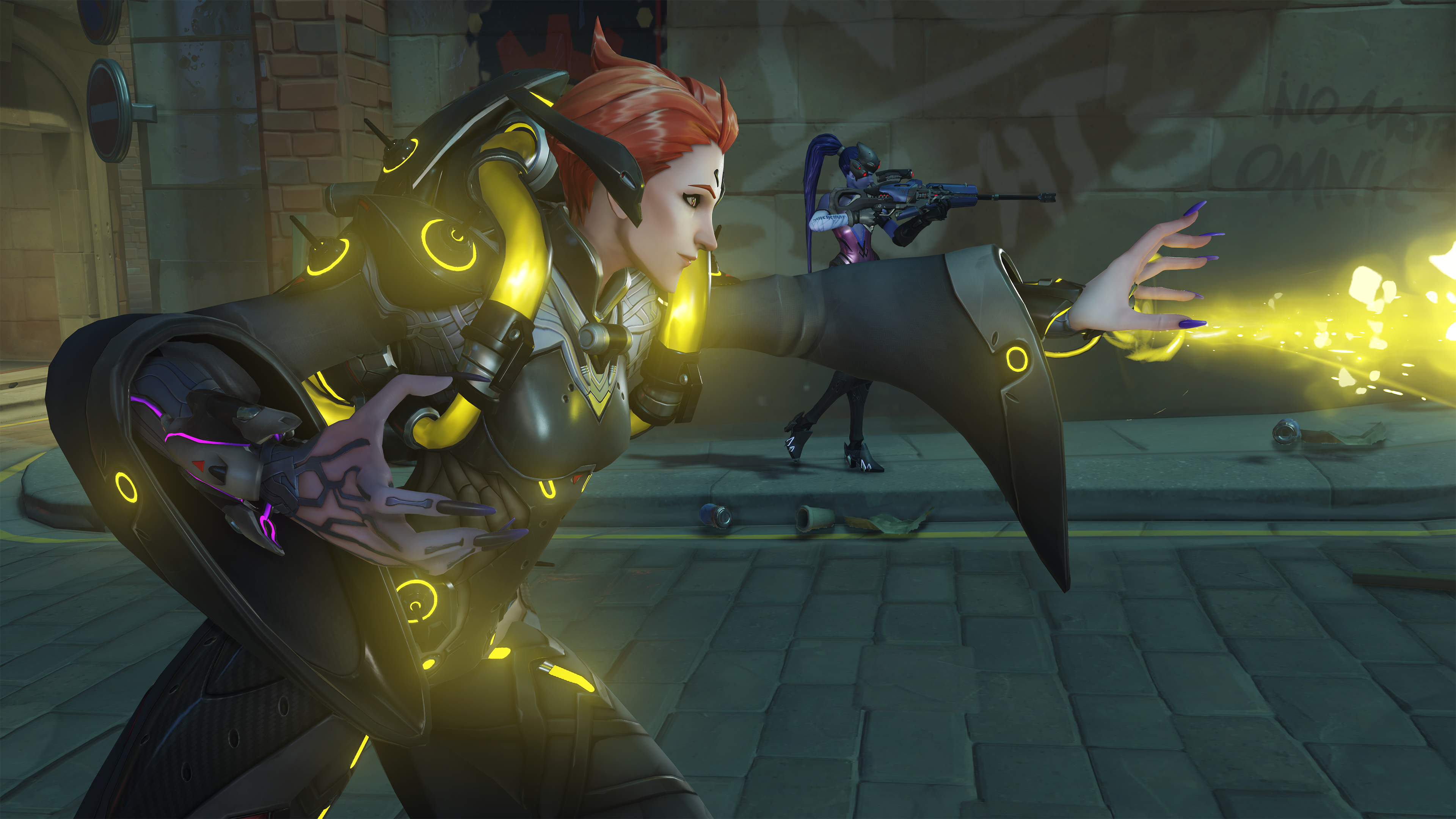 Overwatch Moira Screen 1
