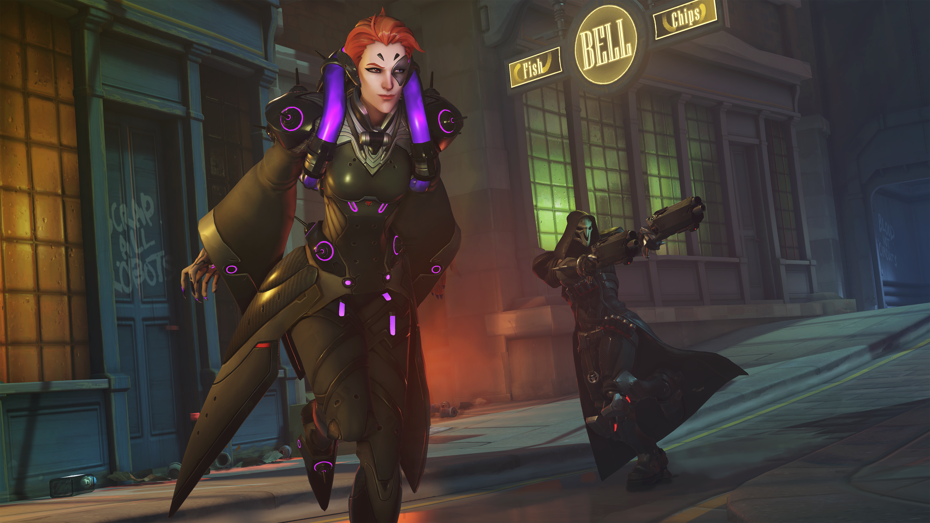 Overwatch Moira Screen 11