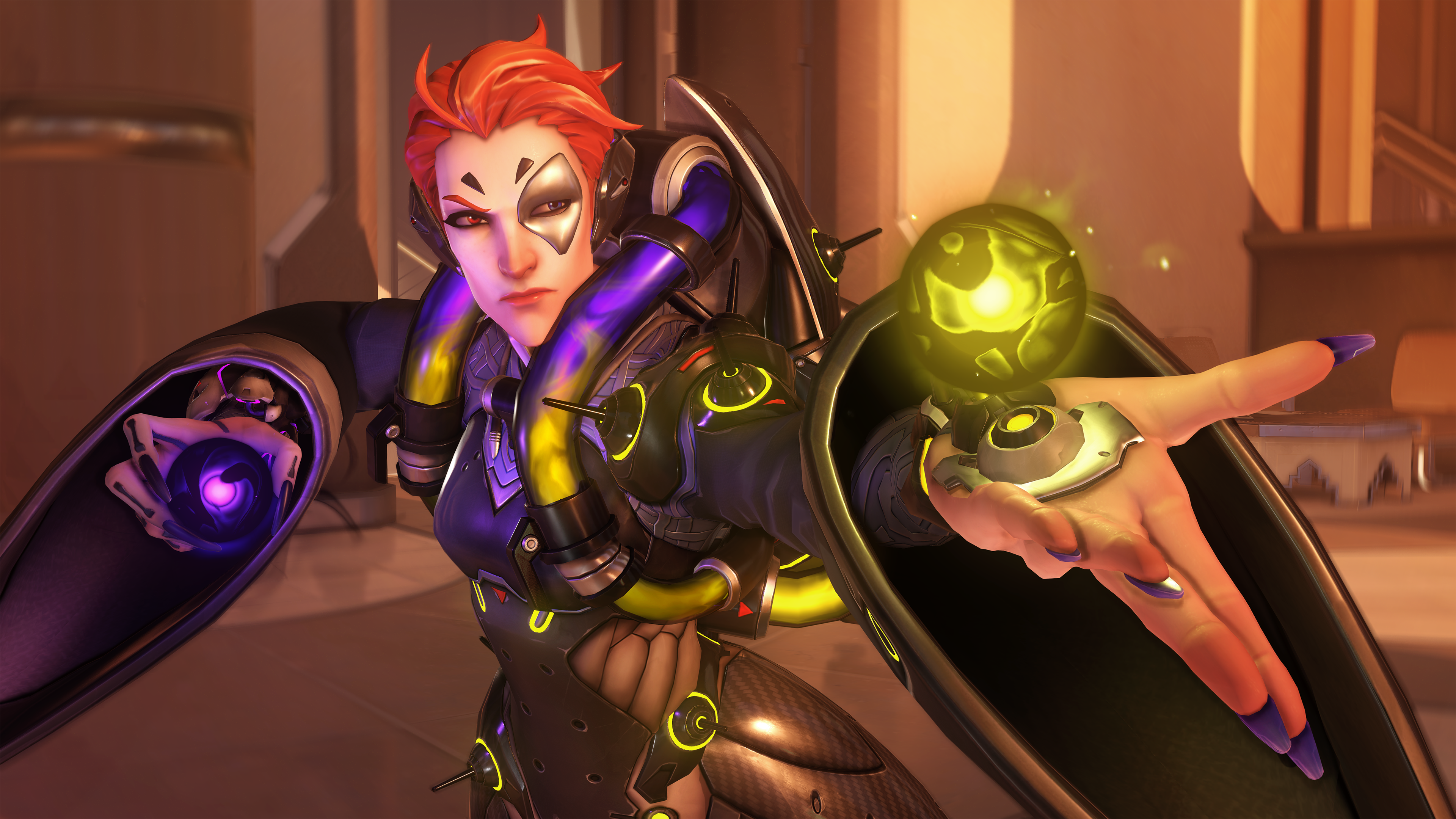 Overwatch Moira Screen 12