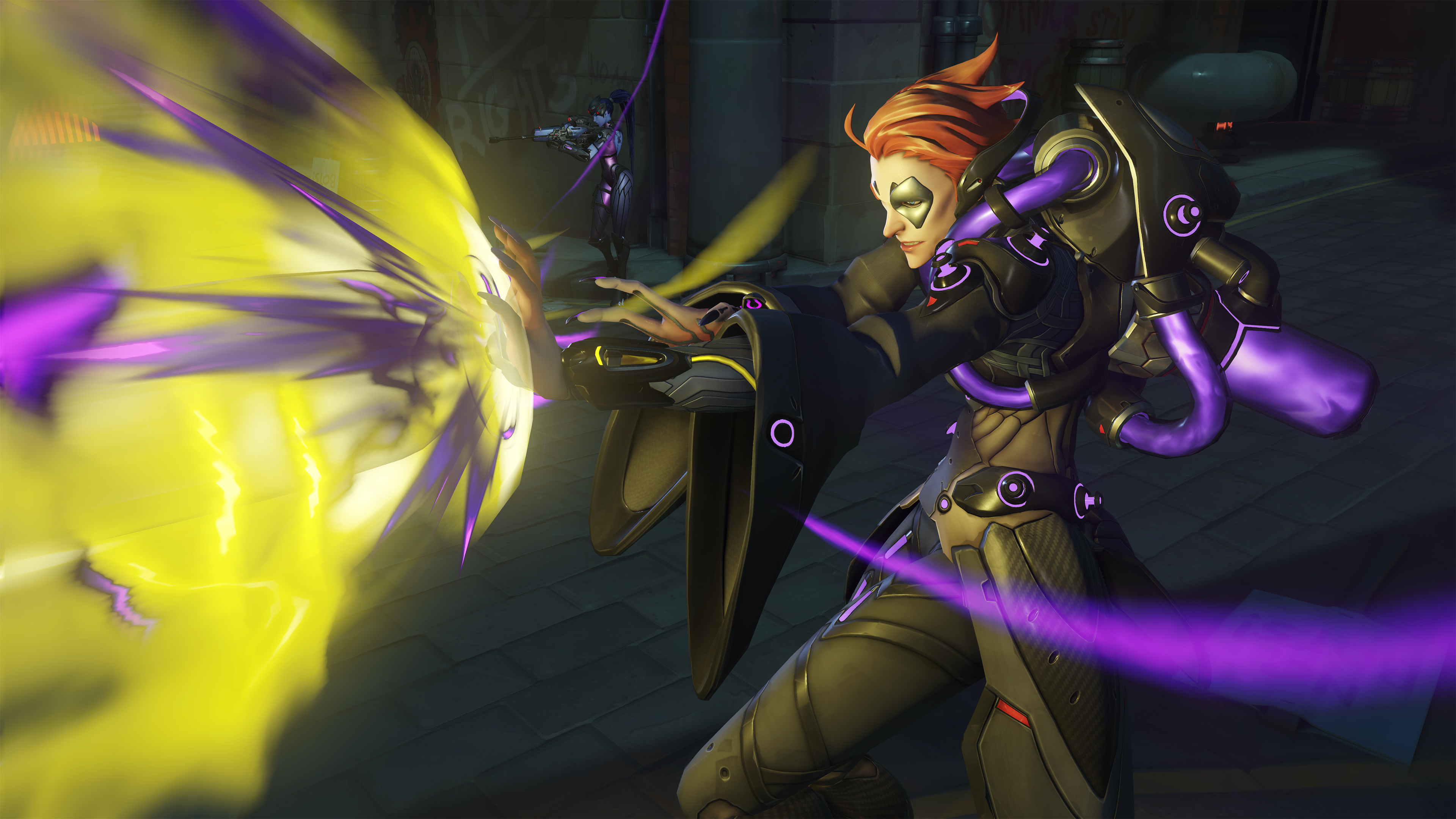 Overwatch Moira Screen 2