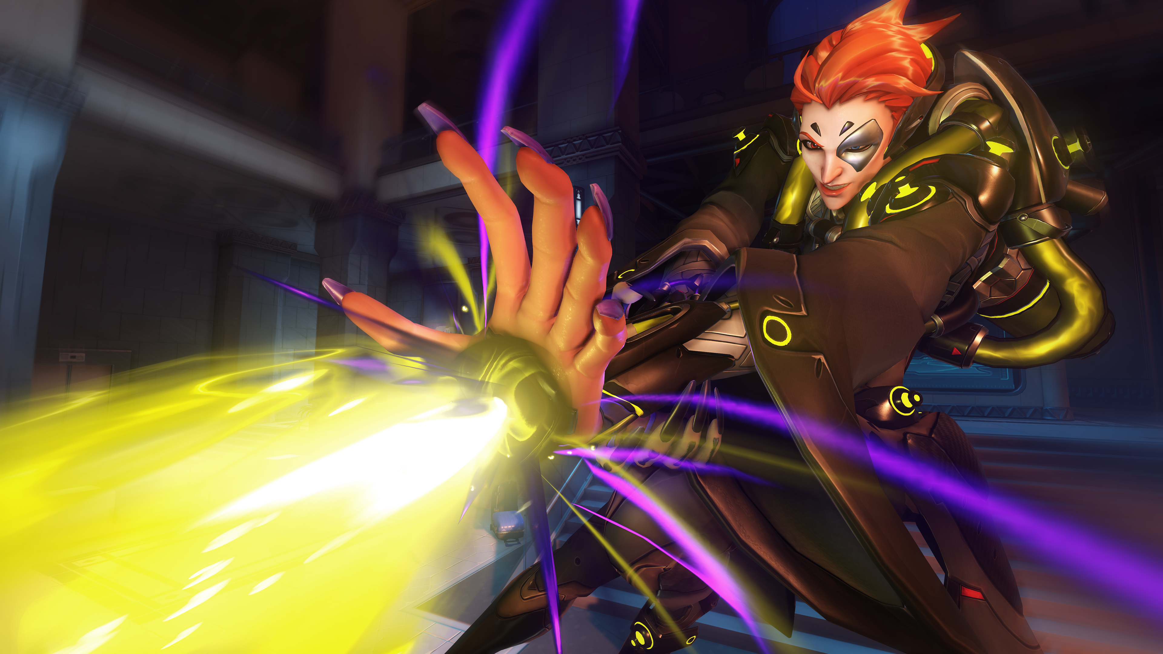 Overwatch Moira Screen 9