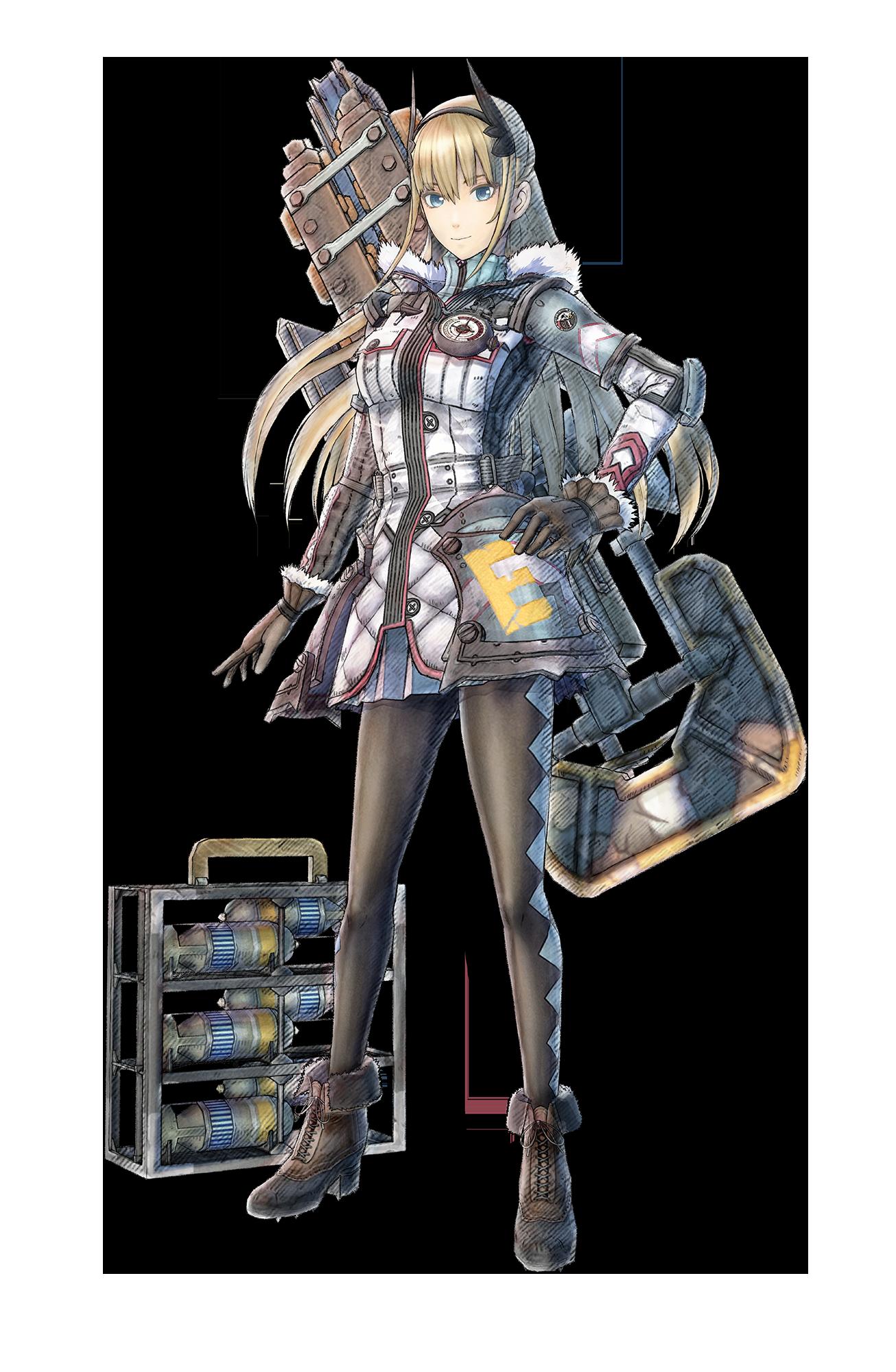 Valkyria Chronicles 4 Character Art 2