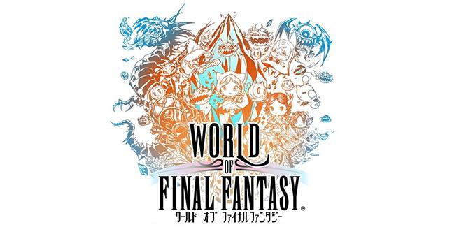 World of Final Fantasy Meli-Melo Logo