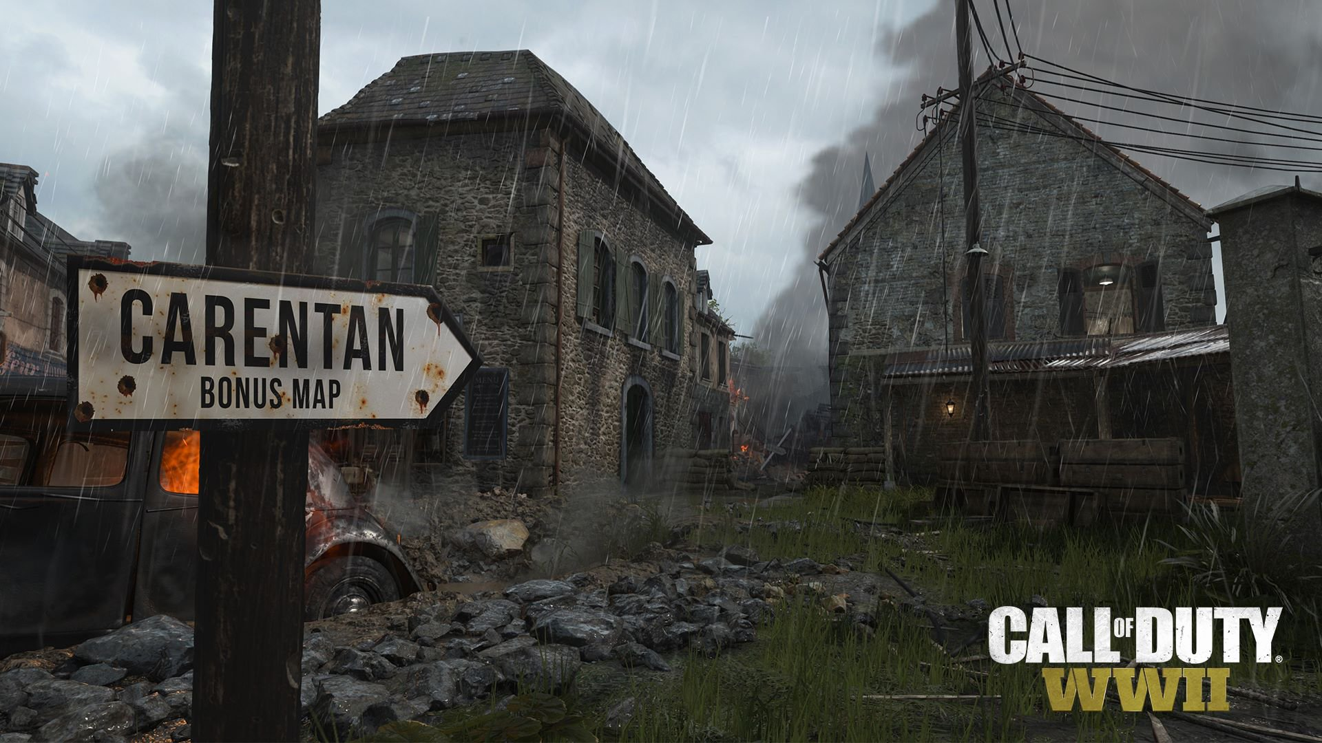 Call of Duty WW2 Carentan Bonus Map screenshot