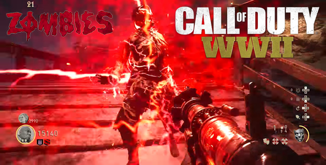 Call Of Duty Ww2 Zombies Wallpaper: Call Of Duty WW2 Zombies Weapons Guide