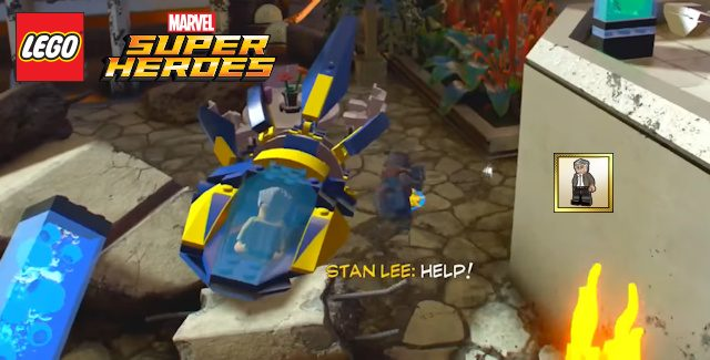 Marvel Superheroes 2 Stan Lee in Peril Locations Guide