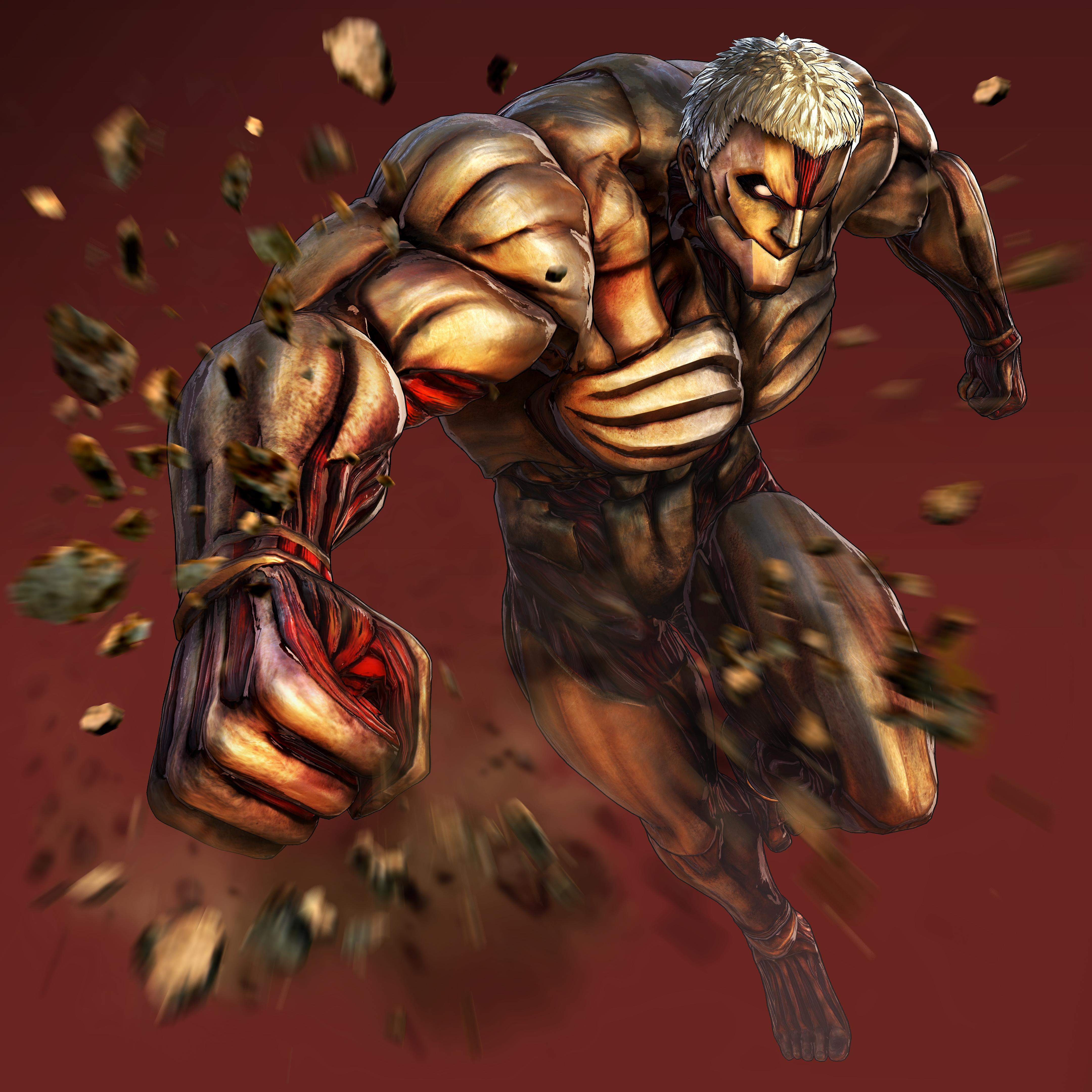 Attack on Titan 2 Armored Titan Render
