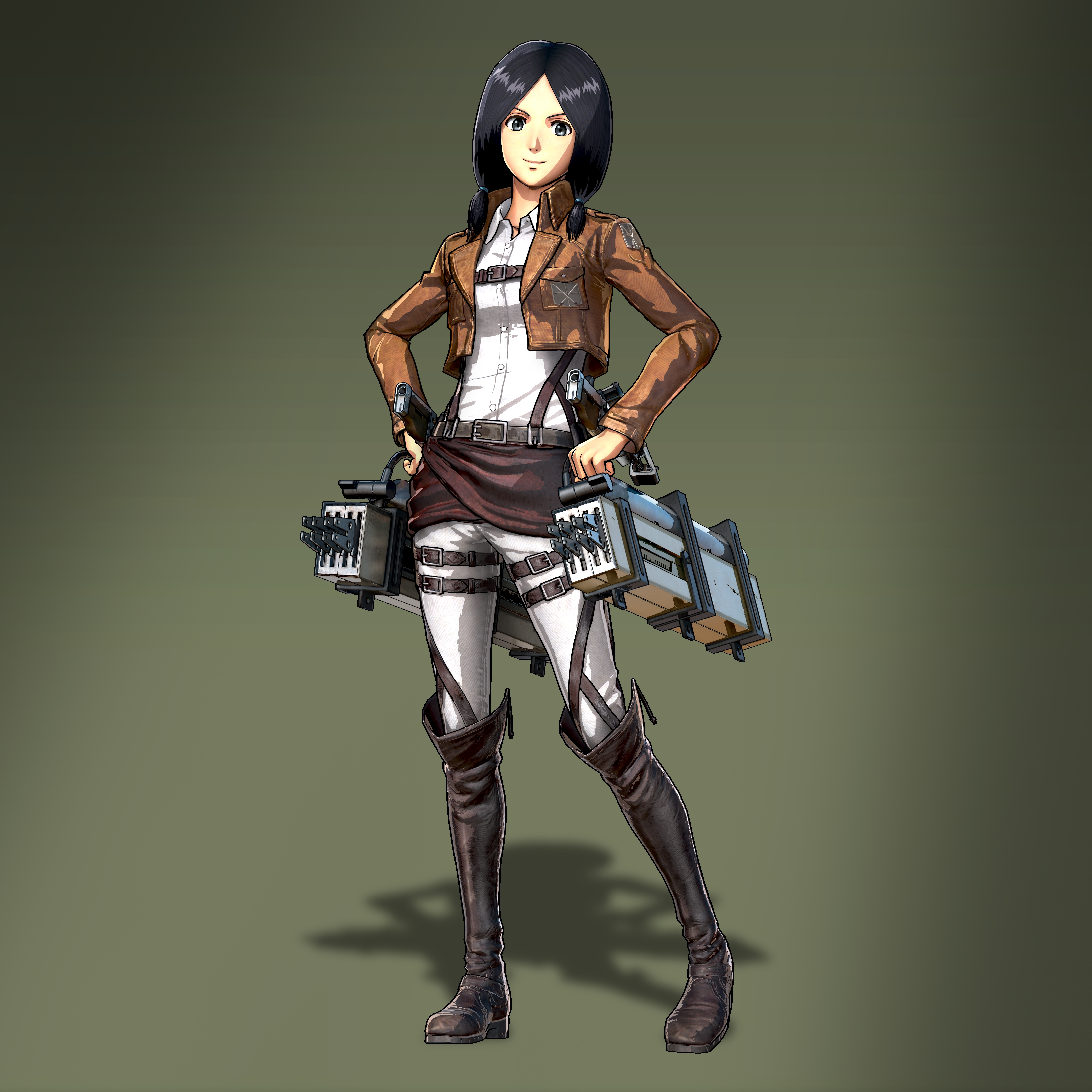 Attack on Titan 2 Mina Carolina Render