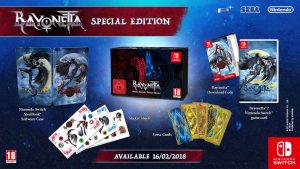 Bayonetta 1-2 Switch Special dition