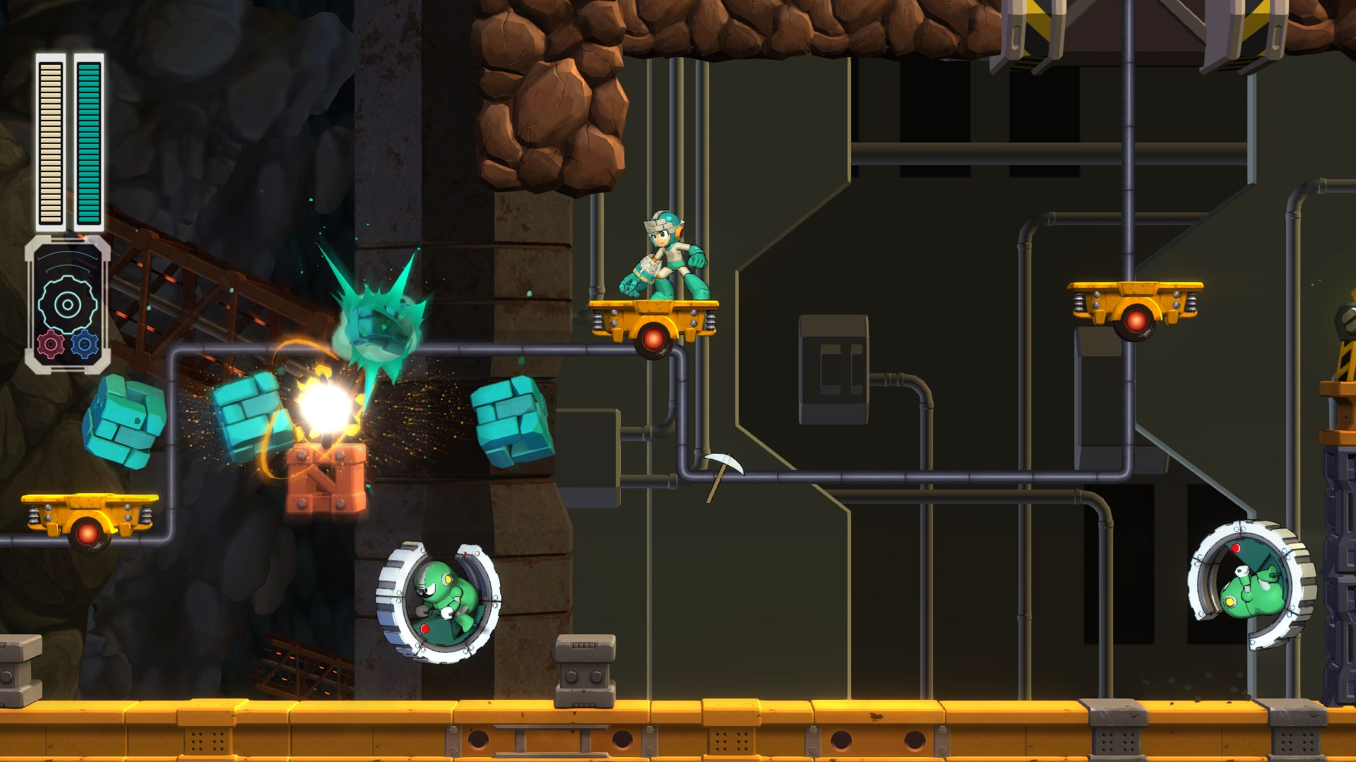 Mega Man 11 Screen 9