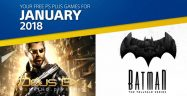 PS Plus January 2018 Banner