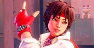 Street Fighter V Sakura Banner