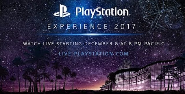 PlayStation Experience PSX 2017 Press Conference Livestream