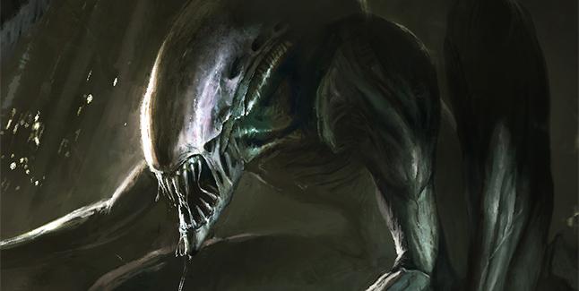 Alien Art Banner