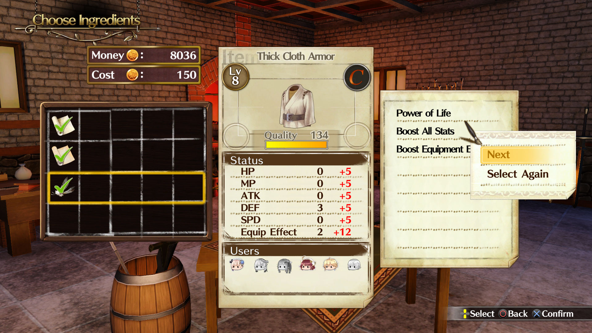 Atelier Lydie and Suelle Screen 16
