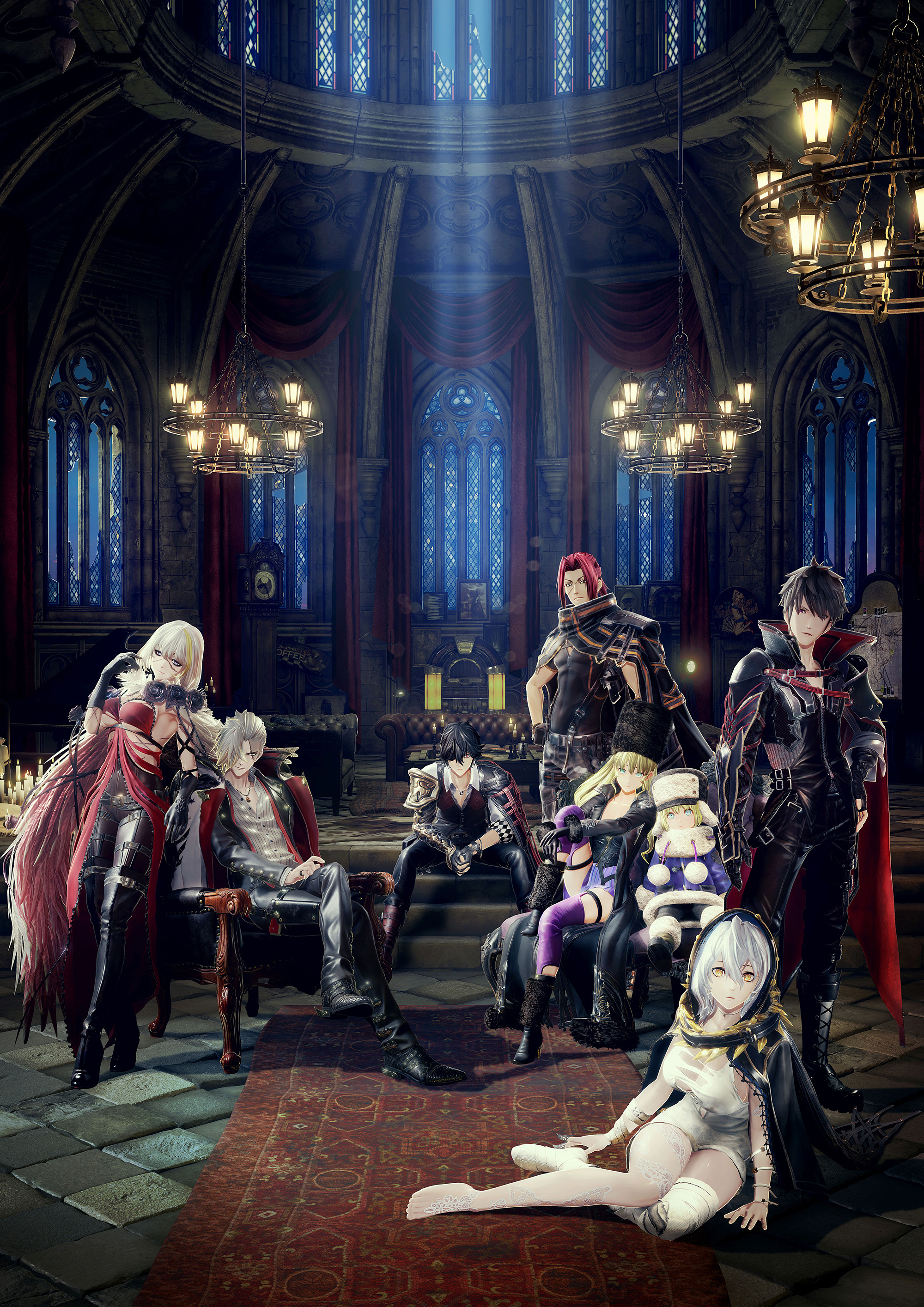 Code Vein Shows Gameplay and Character Creation in New