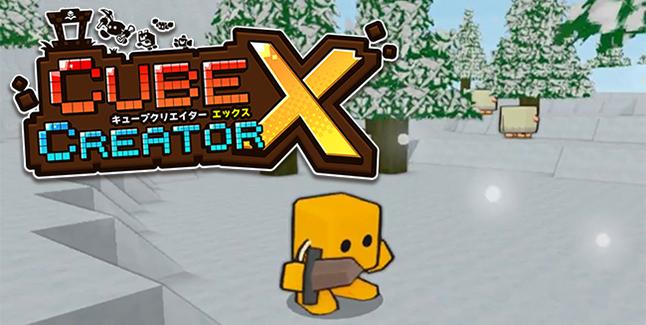 Cube Creator X BannerCube Creator X Banner