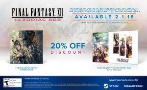 Final Fantasy XII The Zodiac Age PC Collector's Edition