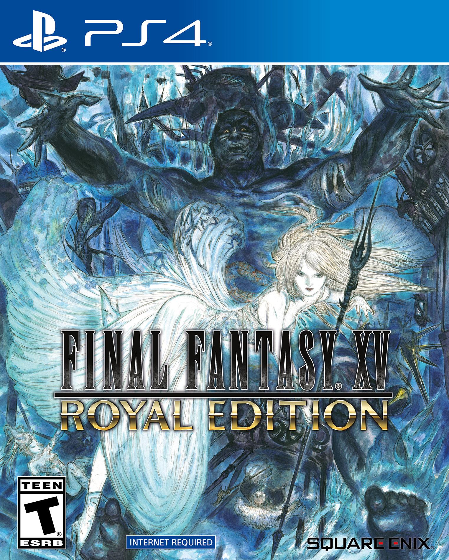 Final Fantasy XV Royal Edition PS4 Boxart