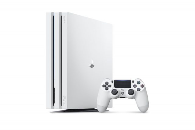 Glacier White PlayStation Pro