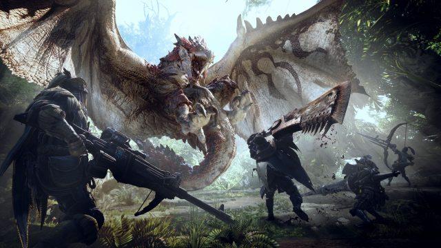 Monster Hunter World Key Visual