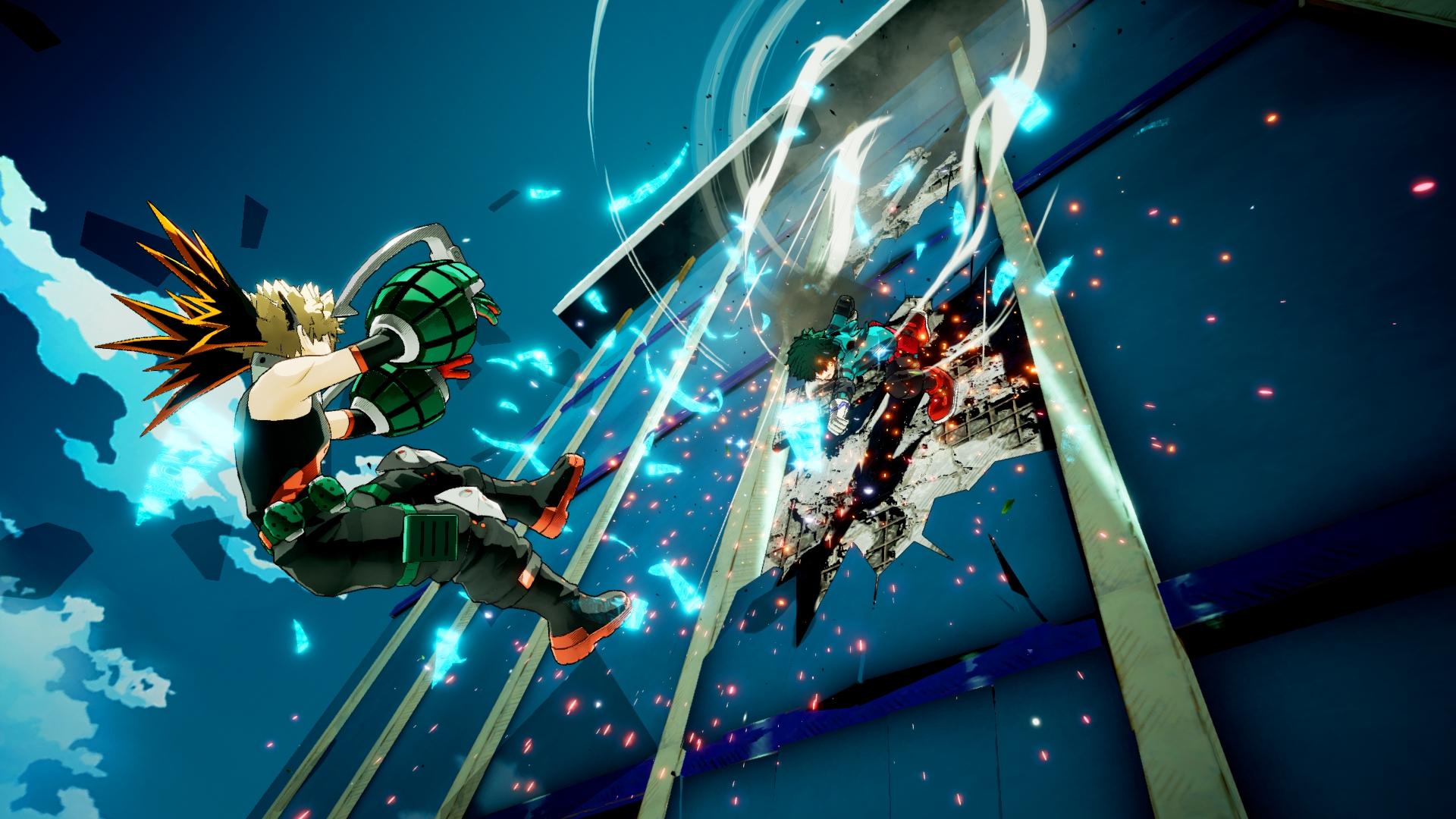 My Hero Academia One S Justice Katsuki Bakugo Screen 5