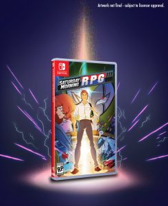 Saturday Morning RPG Switch Boxart