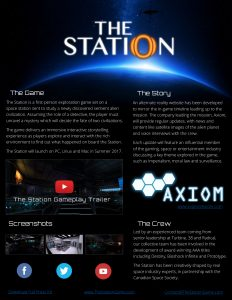 The Station Fact Sheet