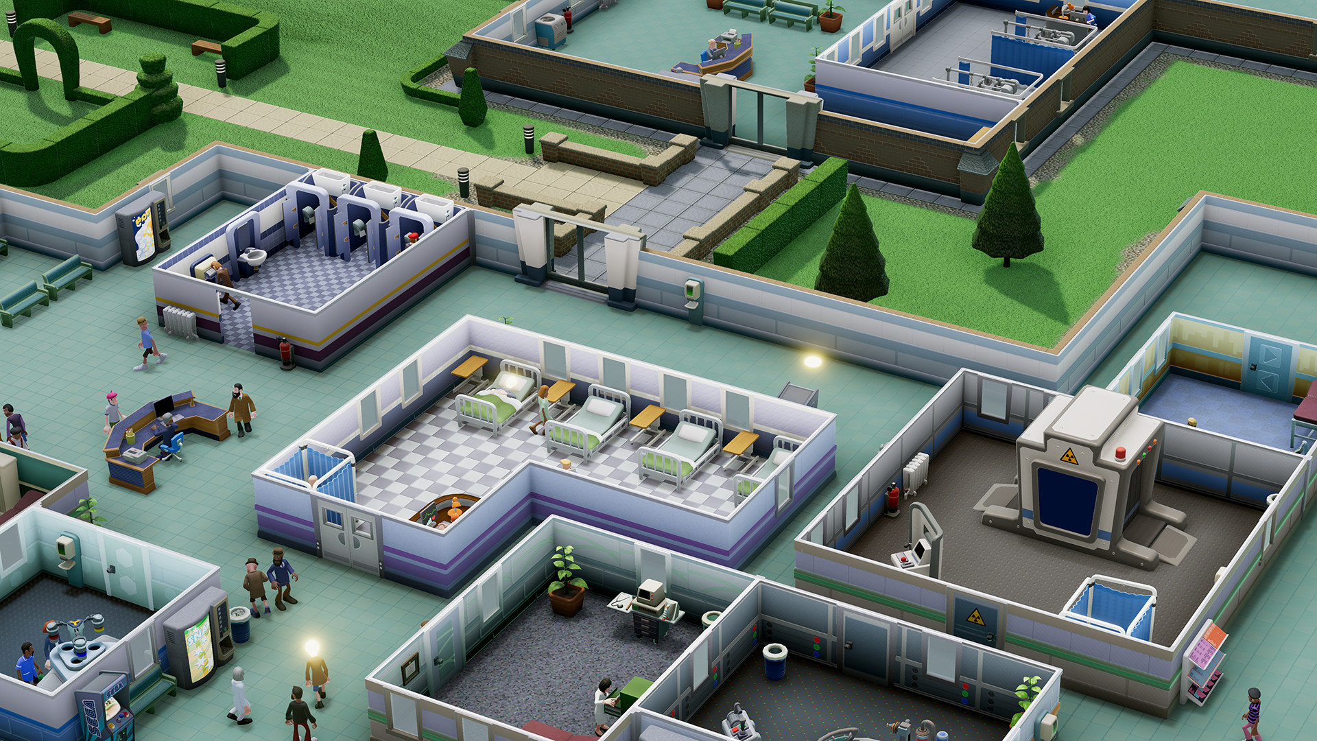 Two Point Hospital Screen 4