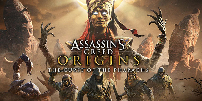 Assassin's Creed Origins The Curse of the Pharaohs Banner