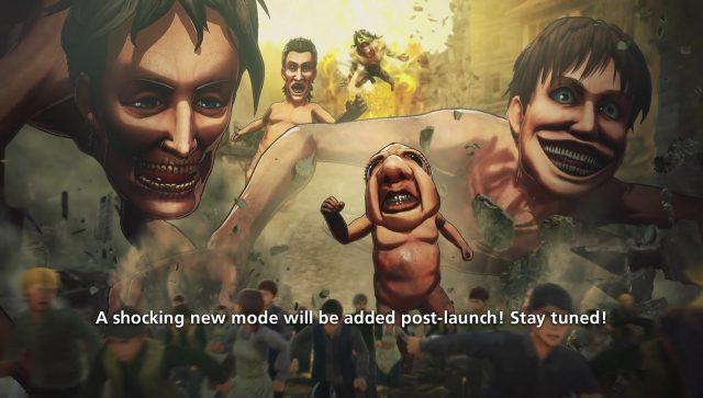 Attack on Titan Shocking New Mode Teaser