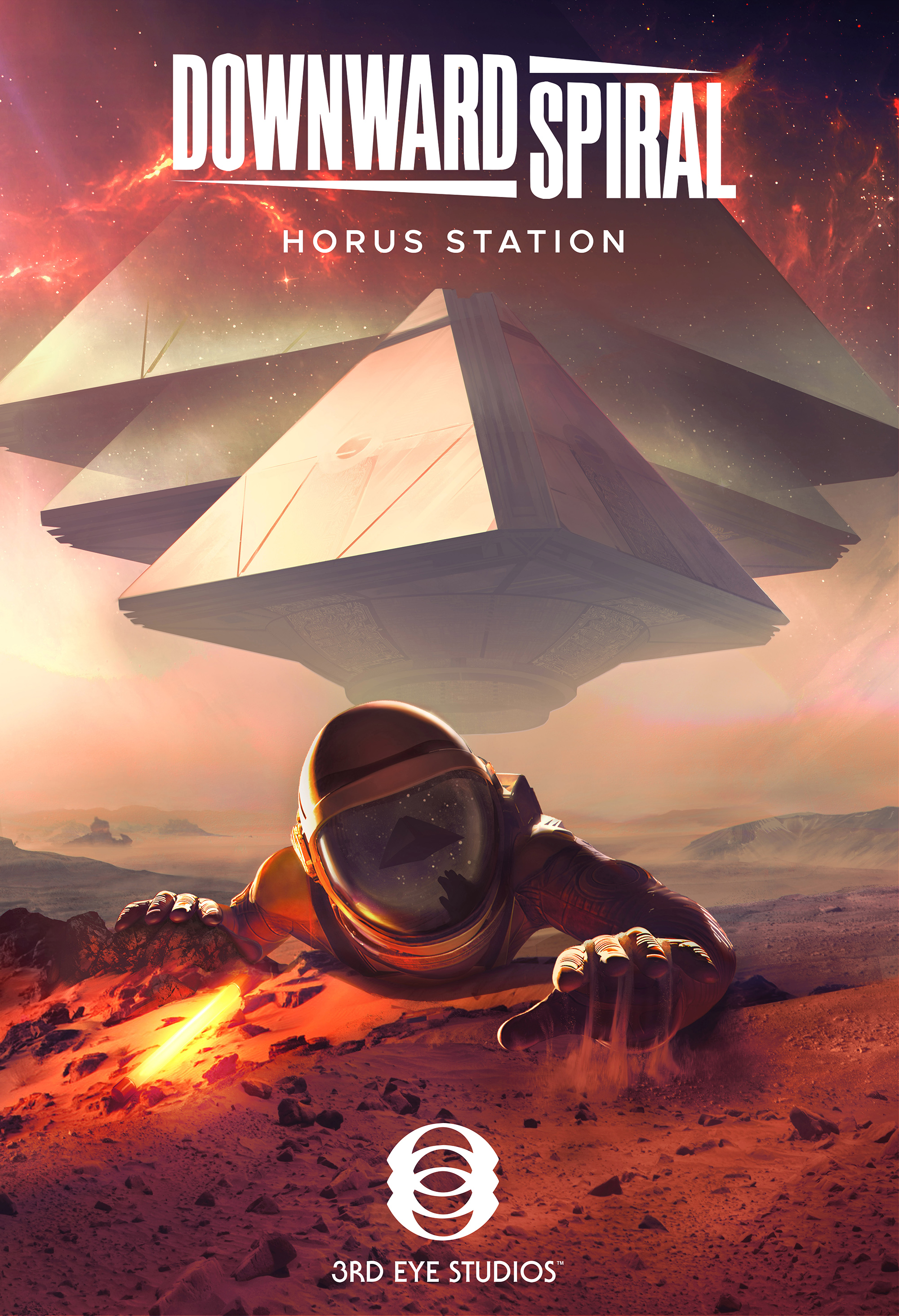 Downward Spiral Horus Station Key Art