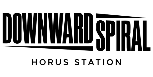 Downward Spiral Horus Station Logo