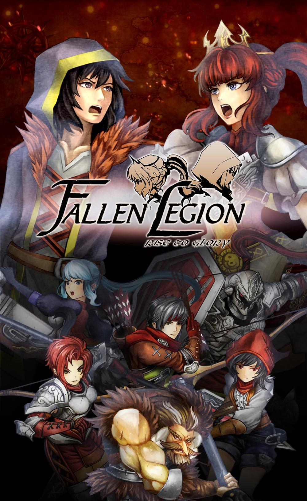Fallen Legion Rise of Glory Key Art