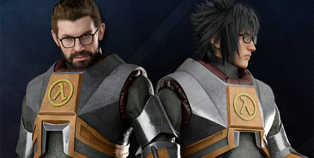 Final Fantasy XV Windows Edition Half-Life Banner