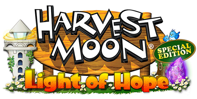 Harvest Moon Light of Hope Special Edition Logo