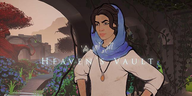Heaven's Vault Banner