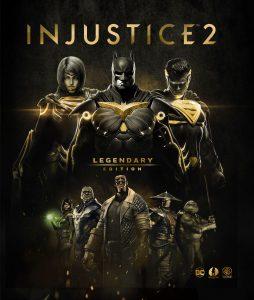 Injustice 2 Legendary Edition Key Art