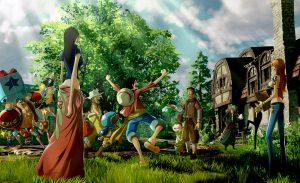 One Piece World Seeker Concept Art 2