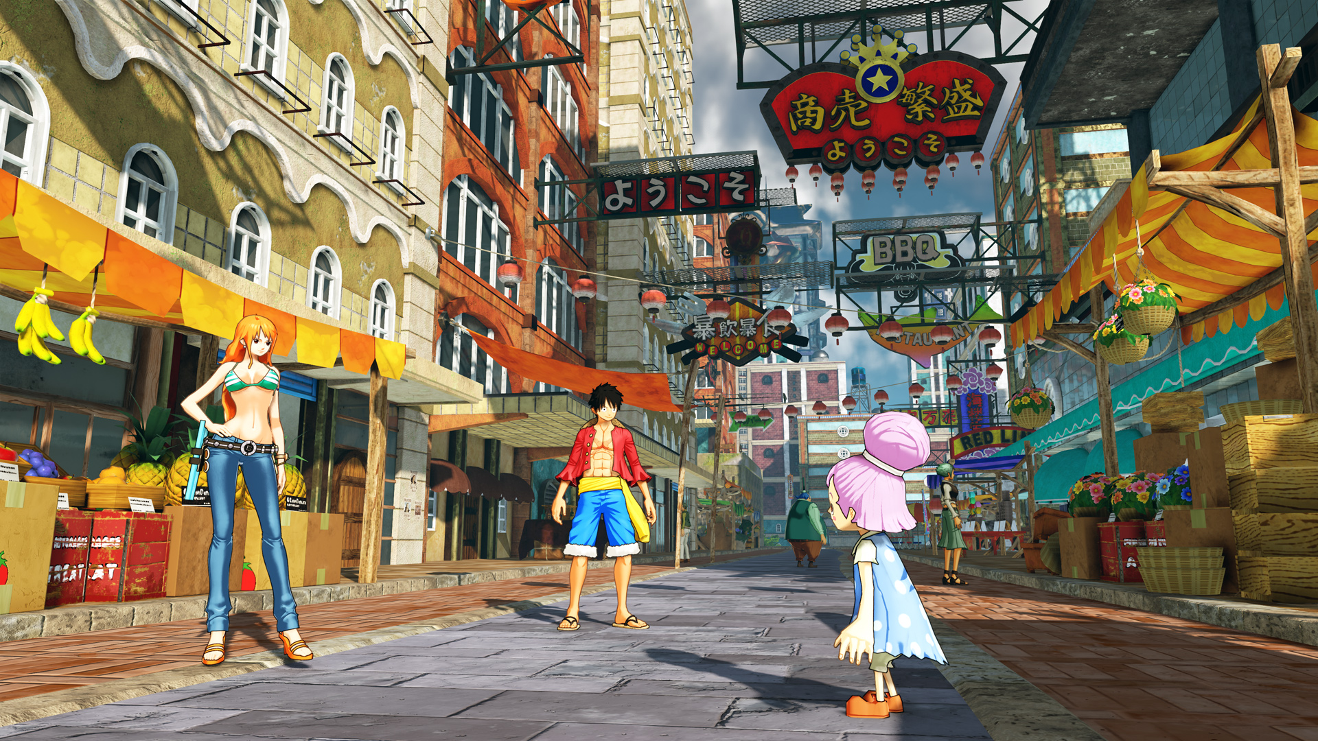 One Piece World Seeker Screen 1