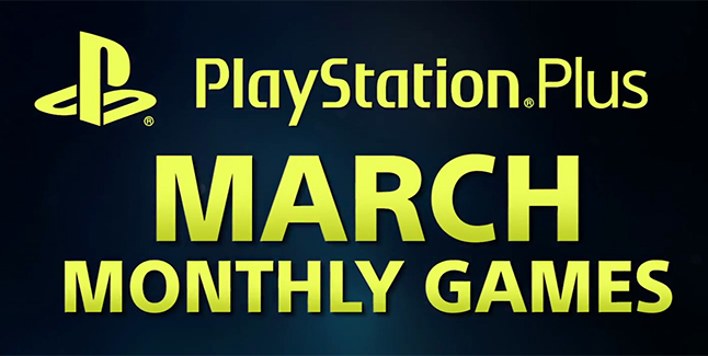 PS Plus March 2018 Banner