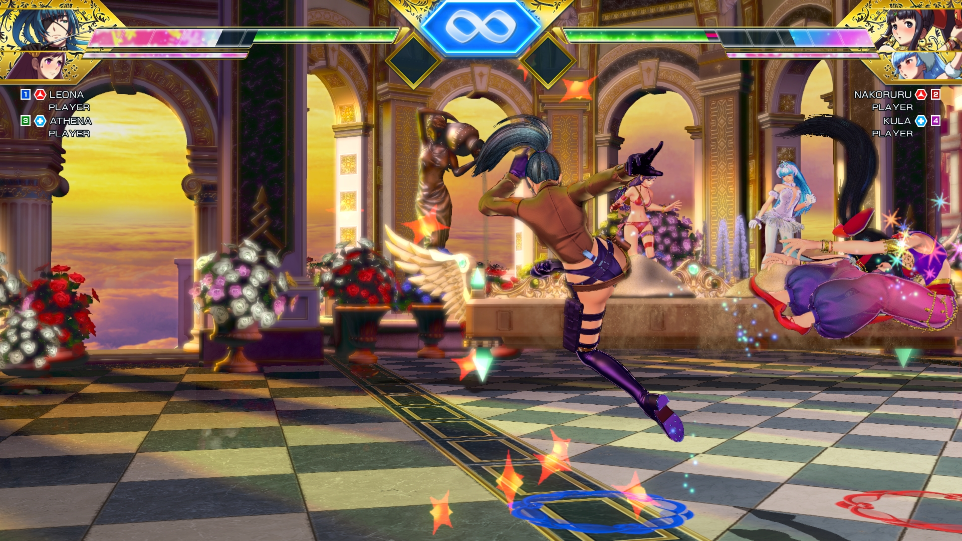 SNK Heroines Tag Team Frenzy Screen 14