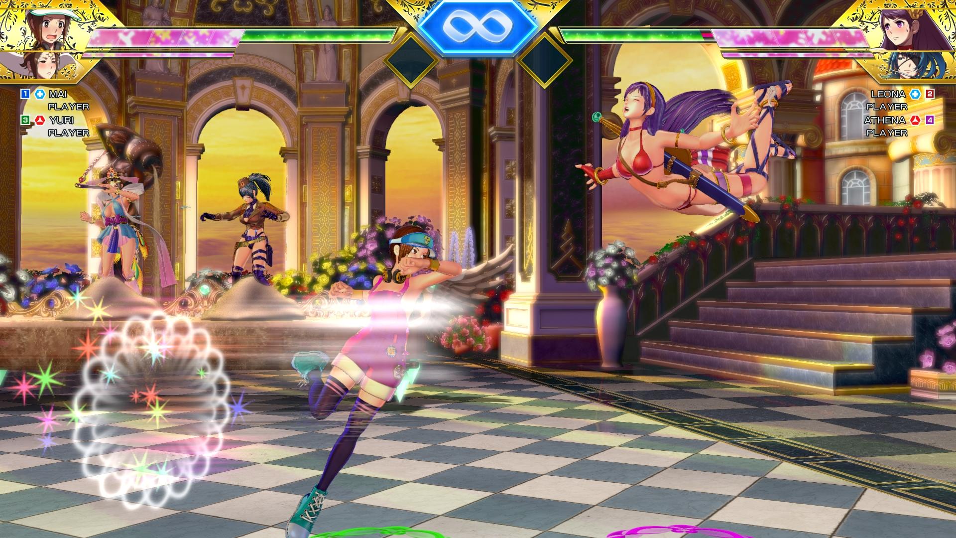 SNK Heroines Tag Team Frenzy Screen 16