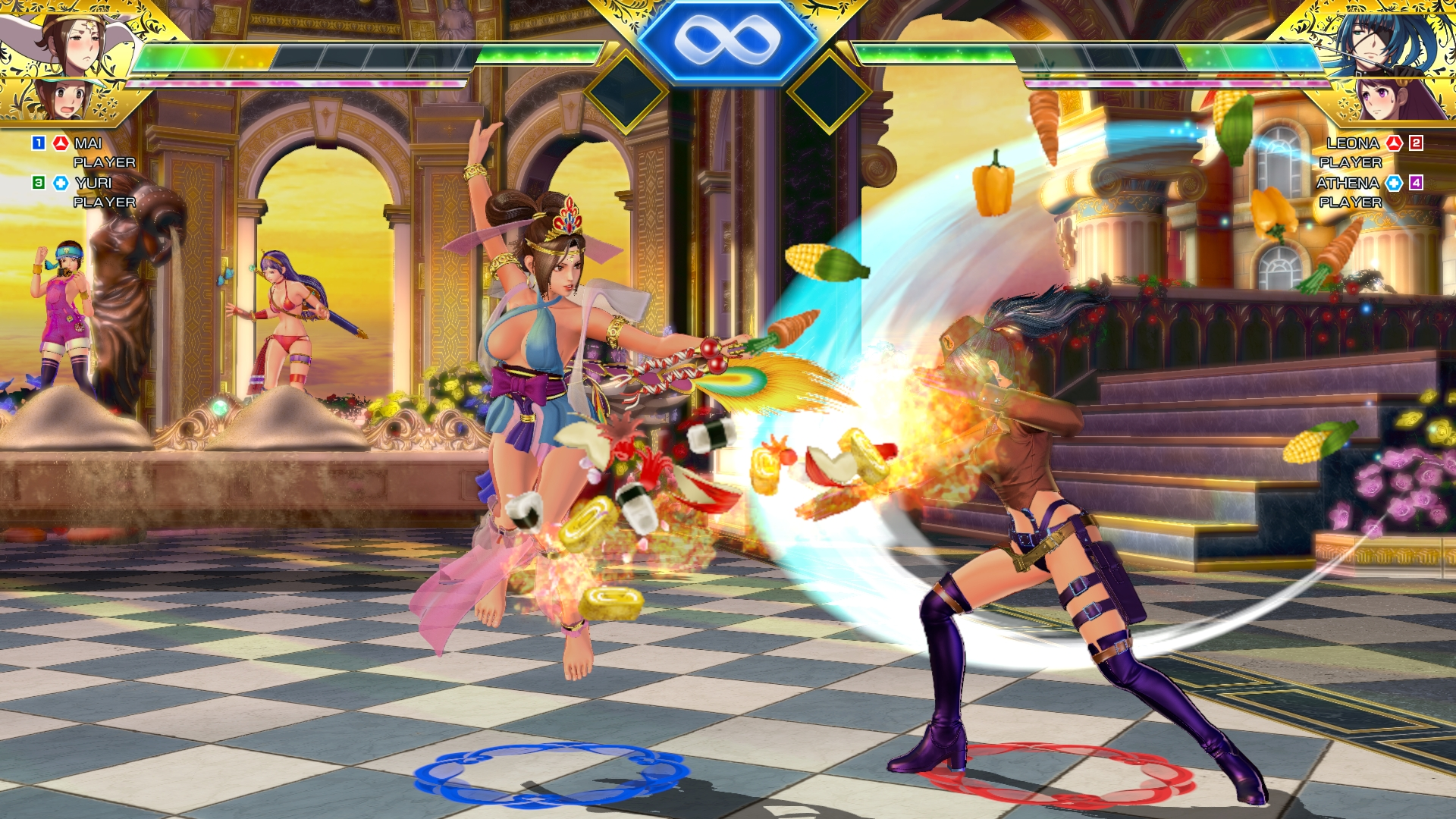 SNK Heroines Tag Team Frenzy Screen 18