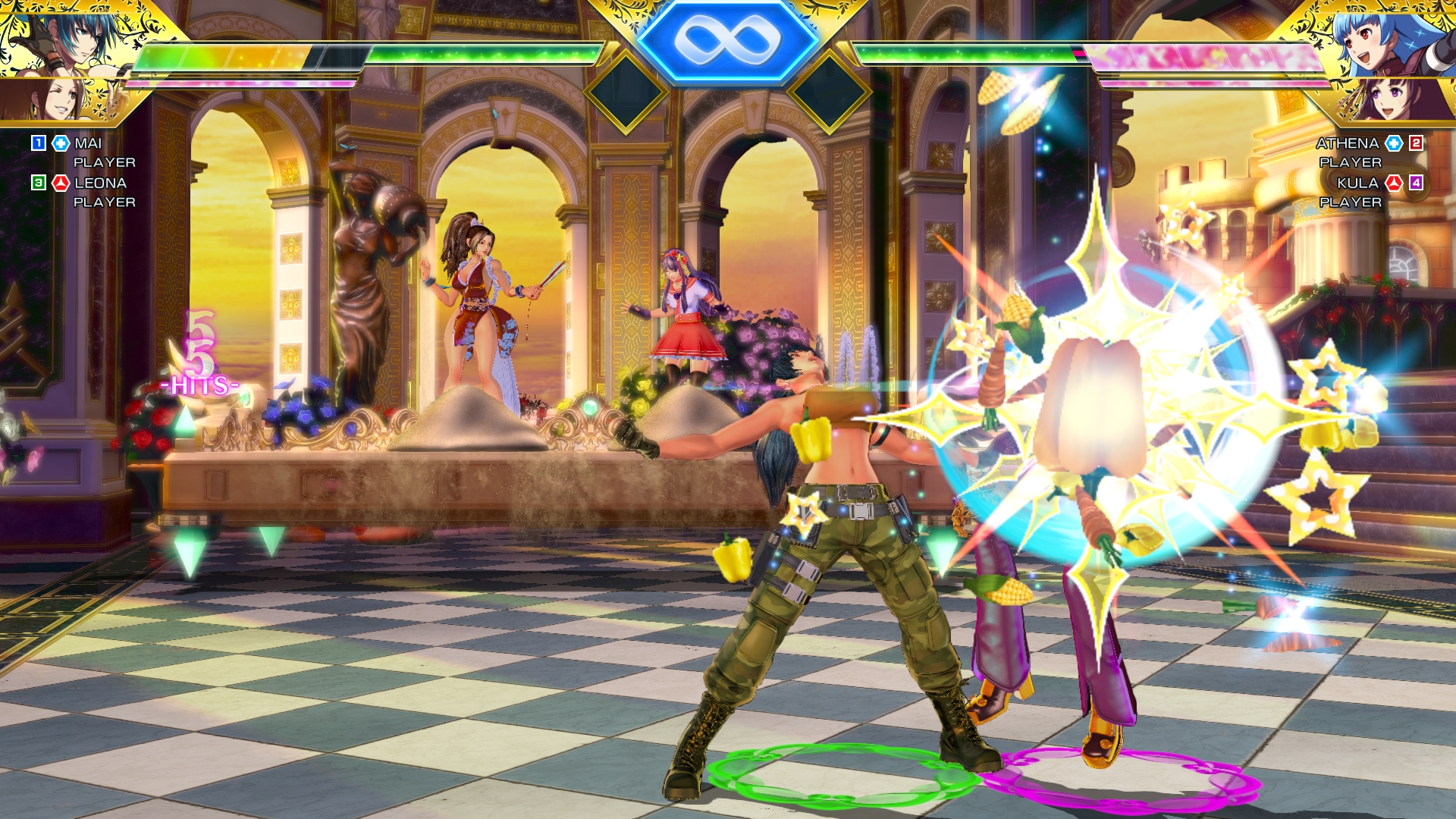 SNK Heroines Tag Team Frenzy Screen 7