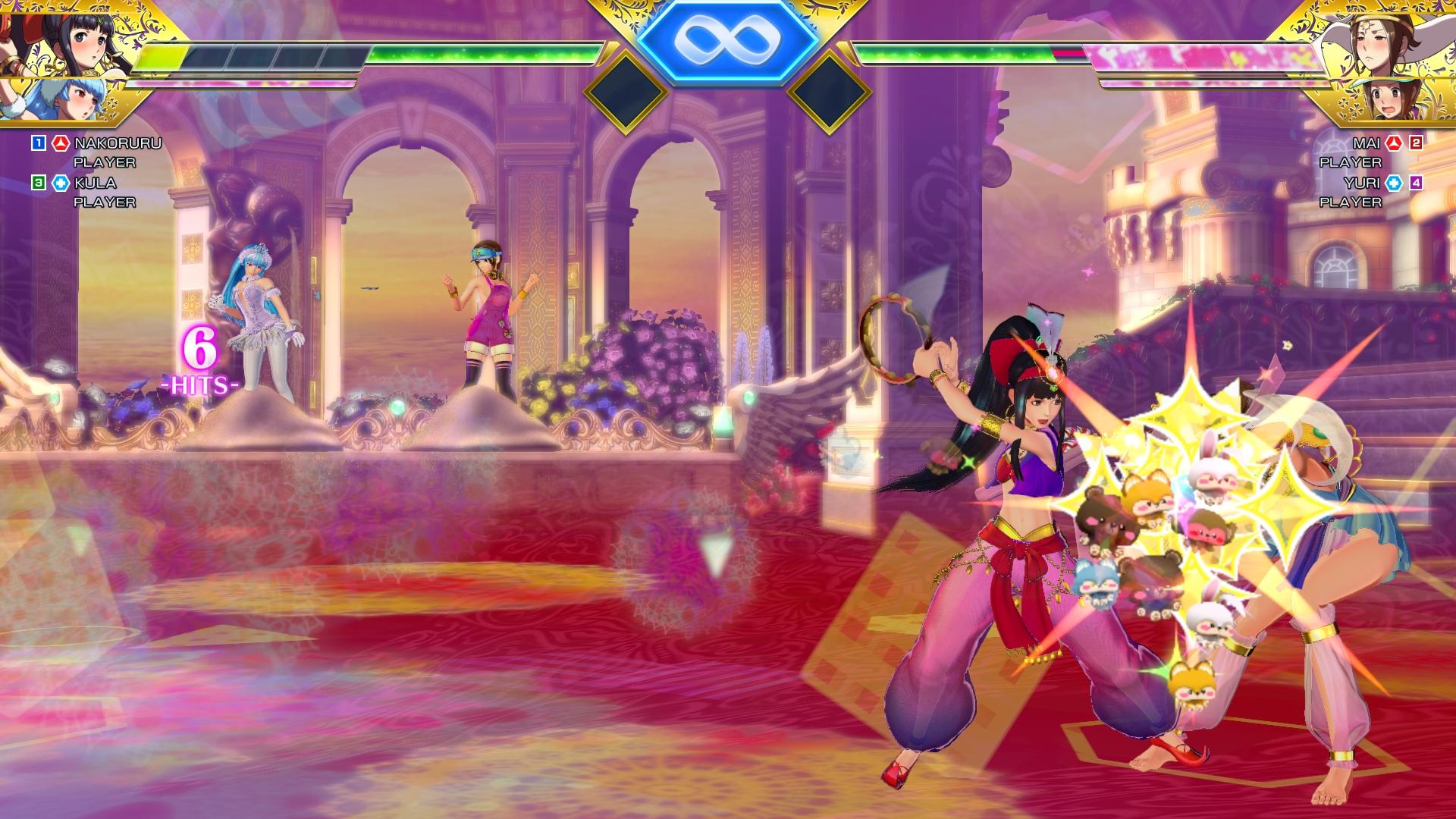 SNK Heroines Tag Team Frenzy Screen 9