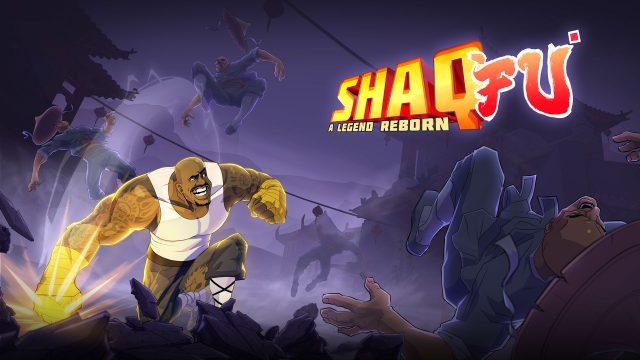 Shaq Fu A Legend Reborn Key Art