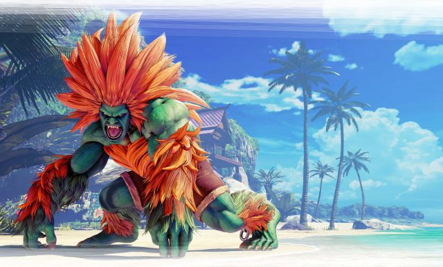 Street Fighter V Blanka Key Art